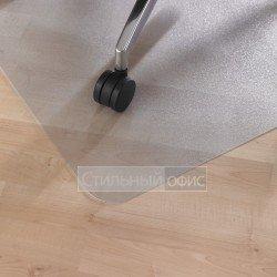 Прямоугольный прозрачный напольный коврик для паркета или ламината