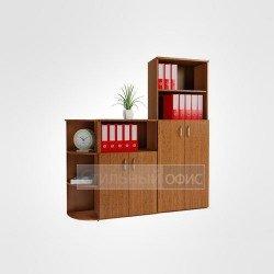 Комплект офисных шкафов для персонала в сборе