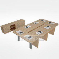 Мебель для переговорной руководителя акация