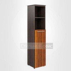 Шкаф высокий узкий полузакрытый правый офисный для руководителя