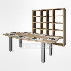 Офисная мебель для переговорной комнаты акация