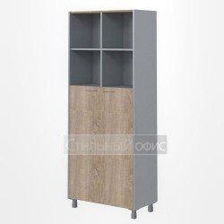 Шкаф полузакрытый широкий высокий офисный для сотрудников