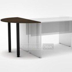 Приставка полукруглая на два стола