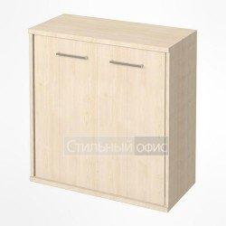Шкаф низкий широкий закрытый