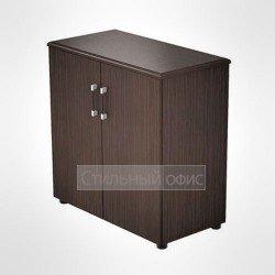 Шкаф низкий в кабинет руководителя