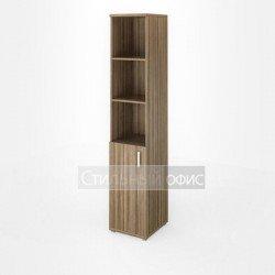 Шкаф узкий высокий с низкой дверкой