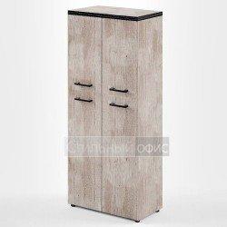 Шкаф со средними и низкими дверками