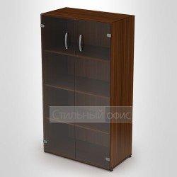 Шкаф средний с тонированным стеклом