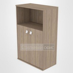 Шкаф средний широкий полузакрытый
