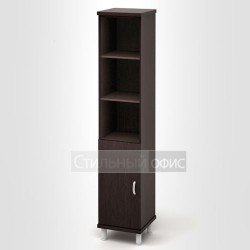 Шкаф узкий высокий полузакрытый