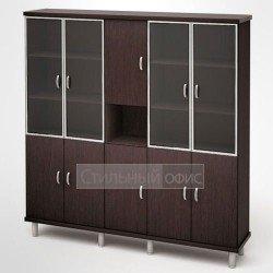 Шкаф в кабинет руководителя с нишей