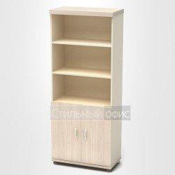 Шкаф высокий полузакрытый в кабинет руководителя
