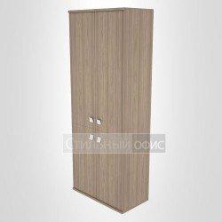 Шкаф высокий широкий закрытый с 4 дверками