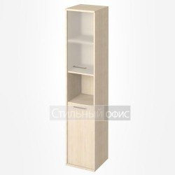 Шкаф высокий узкий с нишей