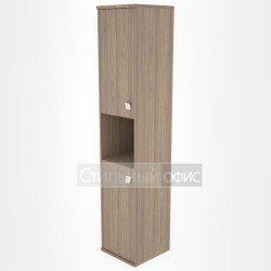 Шкаф высокий узкий полузакрытый