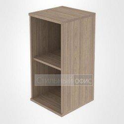 Стеллаж низкий узкий офисный деревянный