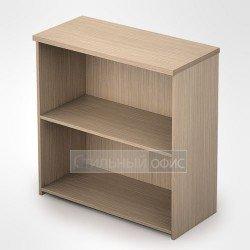 Стеллаж в офис деревянный низкий широкий