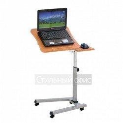 Стол для ноутбука на роликах