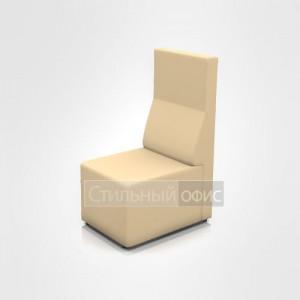 Кресло без подлокотников со средней спинкой