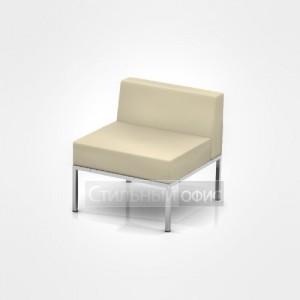 Кресло на металлических опорах офисное