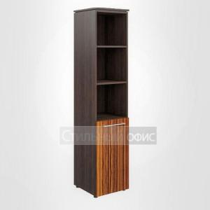 Шкаф узкий высокий полузакрытый правый офисный для руководителя