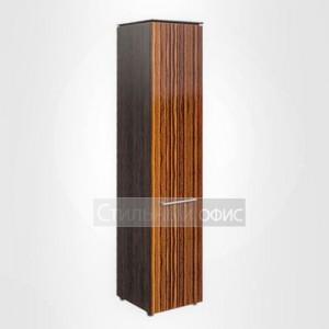 Шкаф высокий узкий закрытый правый офисный для руководителя