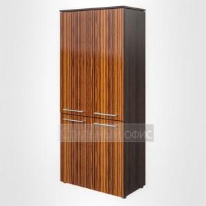 Шкаф высокий широкий закрытый офисный для руководителя