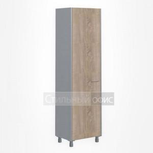 Шкаф для одежды узкий левый офисный для сотрудников