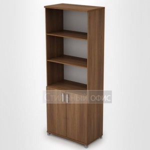 Офисный шкаф для документов полузакрытый высокий