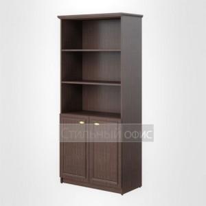 Шкаф полузакрытый широкий высокий офисный для руководителя
