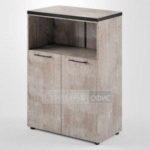 Шкаф средний широкий с низкими дверками