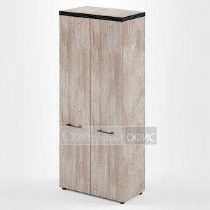 Шкаф высокий широкий с высокими дверками