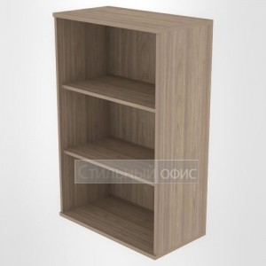Стеллаж средний широкий офисный деревянный