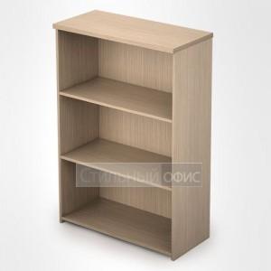 Стеллаж в офис деревянный средний широкий