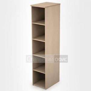 Стеллаж в офис деревянный высокий узкий