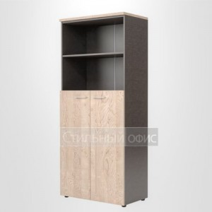 Шкаф полузакрытый высокий широкий офисный для сотрудников