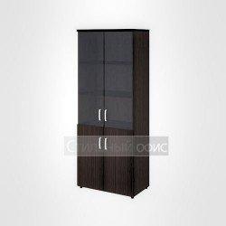 Шкаф высокий широкий закрытый офисный для персонала