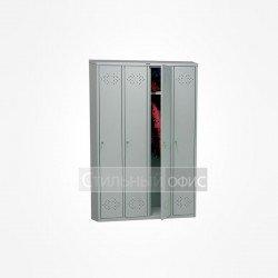 Шкаф металлический для раздевалок 4 секции