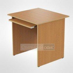 Стол компьютерный с полкой под клавиатуру