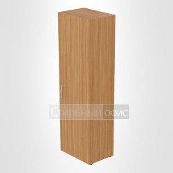 Шкаф для одежды с выдвижной штангой в кабинет руководителя