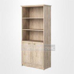 Шкаф высокий широкий полузакрытый офисный для руководителя