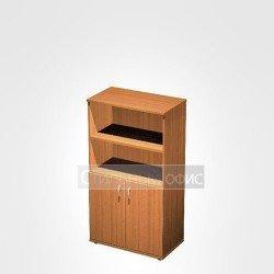 Шкаф офисный для документов полузакрытый