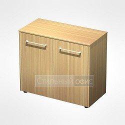 Шкаф для документов низкий закрытый в кабинет руководителя
