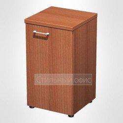 Шкаф для документов узкий низкий закрытый в офис для кабинета руководителя