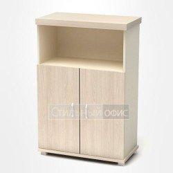 Шкаф низкий полузакрытый в кабинет руководителя