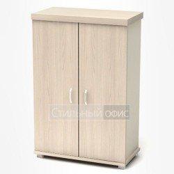Шкаф низкий закрытый в кабинет руководителя