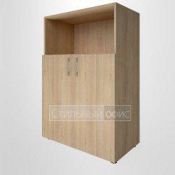 Шкаф средний широкий с низкими дверками для руководителя