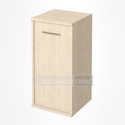 Шкаф низкий узкий закрытый