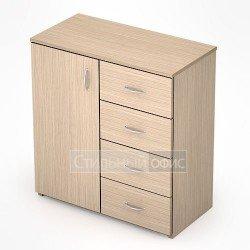 Шкаф с ящиками в офис