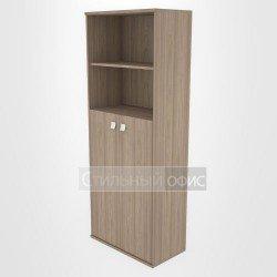 Шкаф высокий широкий со средними дверками
